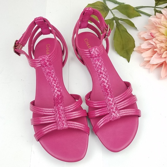 Cole Haan Shoes - Cole Haan pink open toe sandals size 9